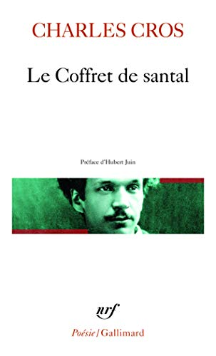 9782070318339: Coffret de Santal (Poesie/Gallimard) (English and French Edition)