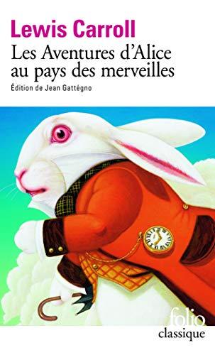 9782070318643: Les Aventures d'Alice au pays des merveilles (Folio classique)