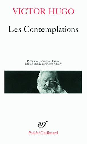 9782070320509: Les Contemplations (Poésie)