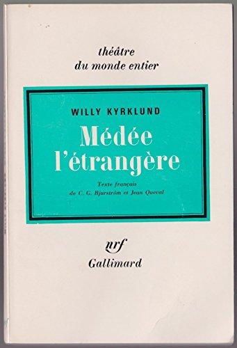 9782070320790: Medee l'étrangère