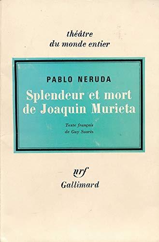 9782070320806: Splendeur et mort de Joaquin Murieta