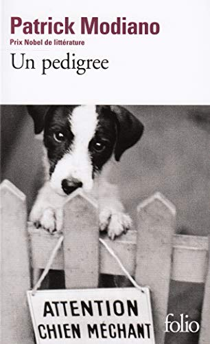 9782070321025: Pedigree (Folio) (French Edition)