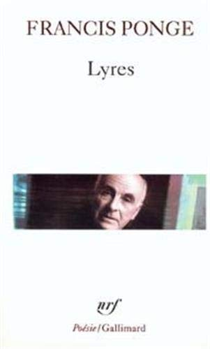 9782070321889: Lyres (Poesie/Gallimard) (English and French Edition)