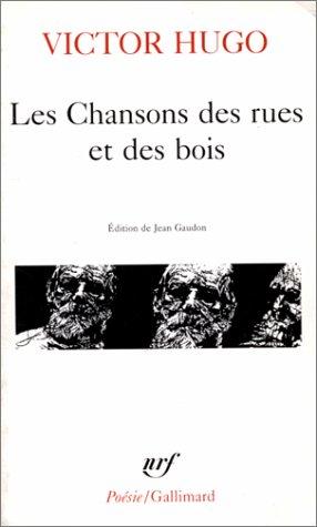9782070322251: Chansons Des Rues Et (Poesie/Gallimard) (French Edition)
