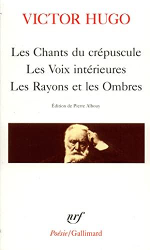 9782070322336: Les Chants Du Crepuscule (Collection Poésie) (French Edition)