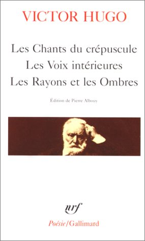9782070322336: Les Chants Du Crepuscule (Collection Poésie) (French Edition)