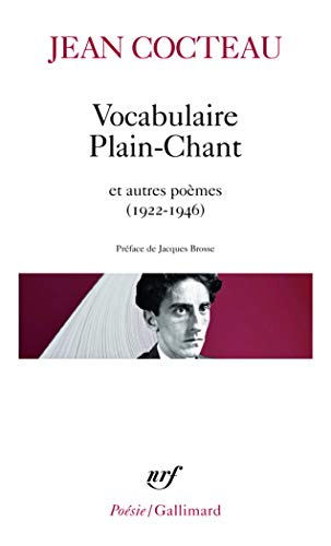 9782070322428: Vocabul Plain Chant (Poesie/Gallimard) (English and French Edition)