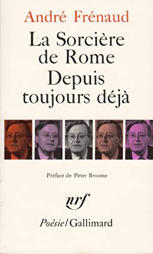 9782070322503 La Sorcière De Romedepuis Toujours Déjà