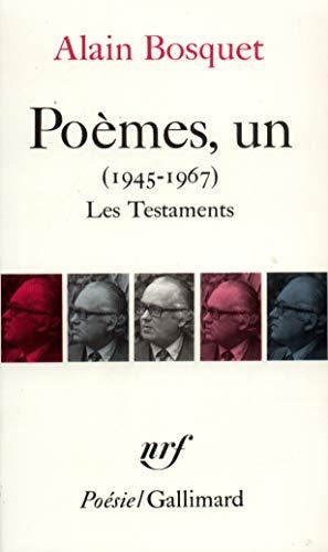 9782070323074: Po�mes, un: (1945-1967)