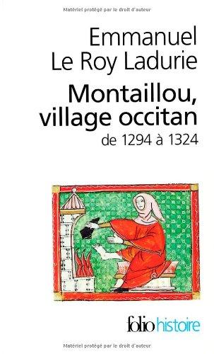 Montaillou Village Occitan De Le Roy Ladurie Emmanuel