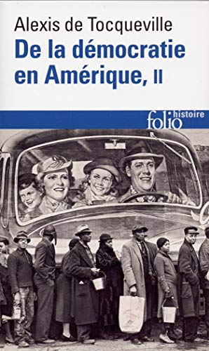 9782070323647: de la Democratie en Amerique (English and French Edition)