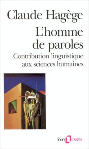 9782070323791: Homme de Paroles (Folio Essais) (English and French Edition)