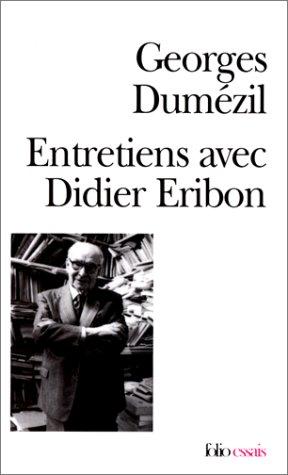 9782070323982: Entretiens avec Didier Eribon
