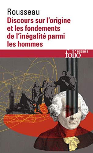 9782070325412: Discours sur l'origine et les fondements de l'inégalité parmi les hommes
