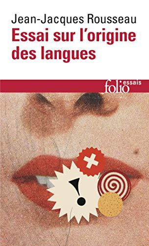 9782070325436: Essai Sur L Orig Langue (Folio Essais)