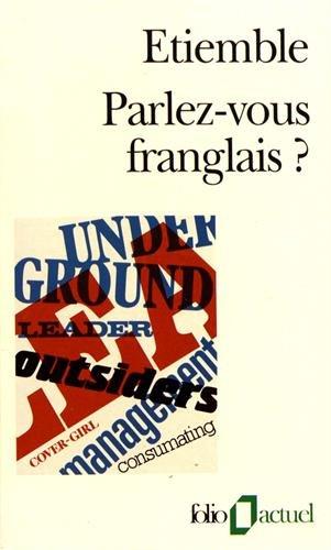 9782070326358: Parlez-vous franglais ?