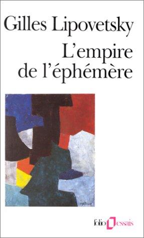 9782070326426: L'Empire de l'éphémère