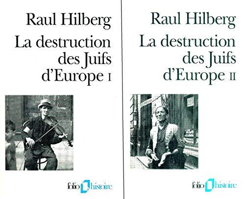 9782070327102: La destruction des juifs d'europe (Folio Histoire)