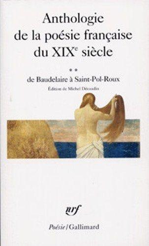 Anthologie de la Poesie Francaise du XIX: Collectifs, Gall