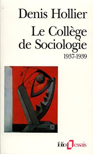 9782070327638: College de Sociologie (Folio Essais)