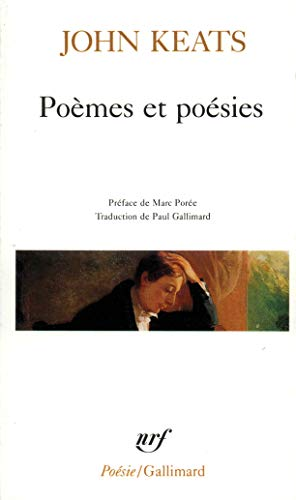 Poemes Et Poesies (Poesie/Gallimard) (French Edition) (2070328708) by Keats, John