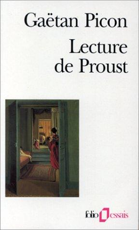 9782070328802: Lecture de Proust