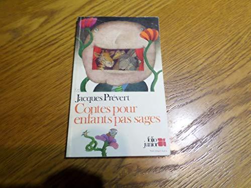 9782070330218: Contes Pour Enfants Pas Sages (Folio Jr 1)