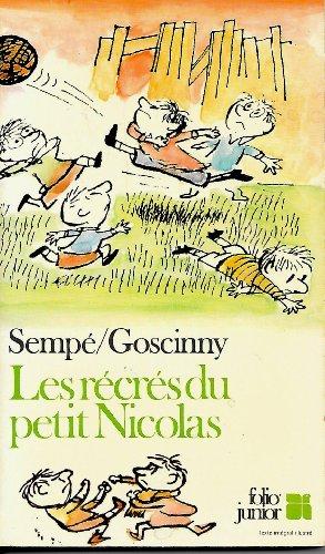 9782070330478: Les récrés du petit nicolas (Folio Junior 1)
