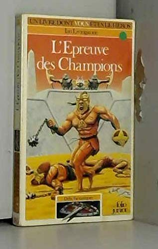 9782070333851: L'Epreuve des champions