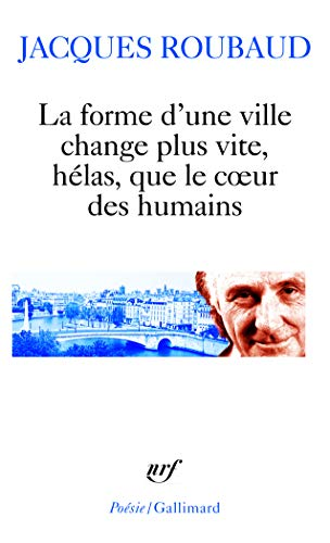 9782070336951: Forme D Une Ville Change PL (Poesie/Gallimard) (French Edition)