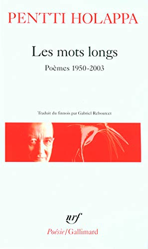 9782070338917: Mots Longs Poe 1950 2003 (Poesie/Gallimard) (French Edition)