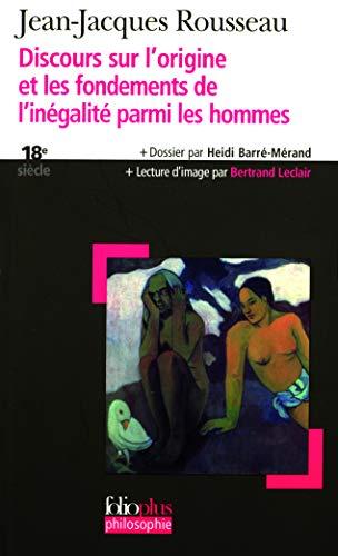 9782070339167: Disc Sur Origine Inegal (Folio Plus Philosophie) (French Edition)
