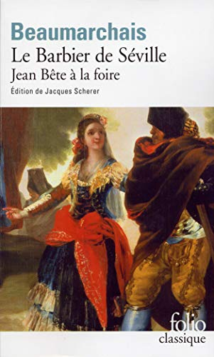 Barbier de Sev Jean Be (Folio (Gallimard)) (English and French Edition) (2070339815) by Beaumarchais