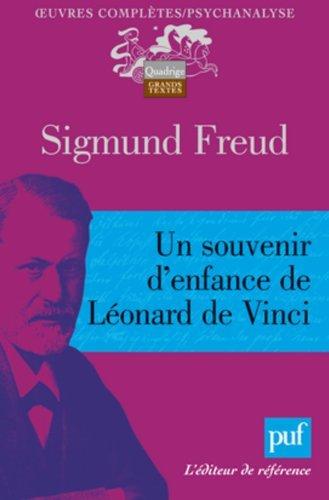 9782070341474: Un souvenir d'enfance de Léonard de Vinci