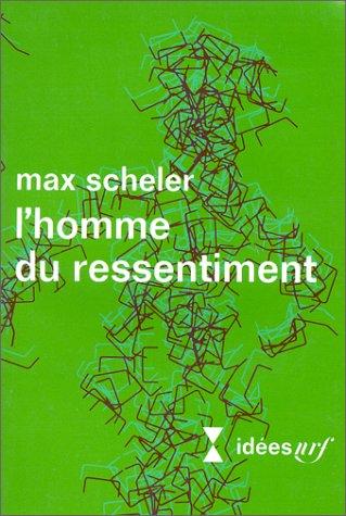 9782070352449: L'Homme du ressentiment : Traduction revue et corrigée