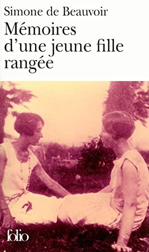 9782070355525: Memoires D'une Jeune Fille Rangee (Folio) (French Edition)