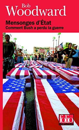 9782070356294: Mensonges d'État: Comment Bush a perdu la guerre