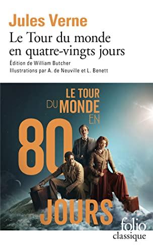9782070357758: Le Tour du monde en quatre-vingts jours (Folio Classique)