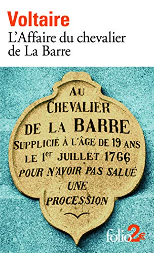 9782070359943: L'Affaire du chevalier de La Barre/ L'Affaire Lally