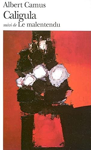 9782070360642: Caligula suivi de Le Malentendu (French Edition)
