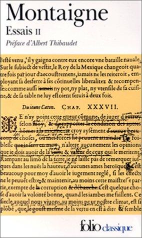 9782070362905: Essais II (French Edition)