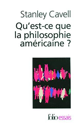 9782070363247: Qu'est-ce que la philosophie américaine?: De Wittgenstein à Emerson