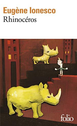 9782070368167: Rhinoceros (Folio) (French Edition)