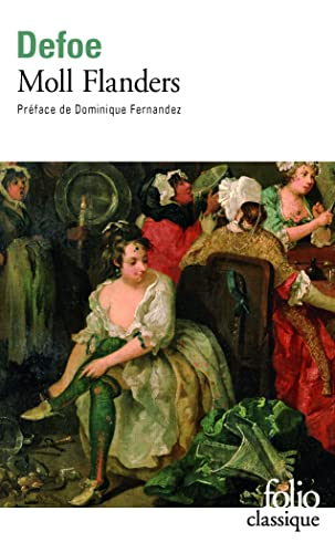 9782070371099: Moll Flanders (Folio (Gallimard)) (English and French Edition)