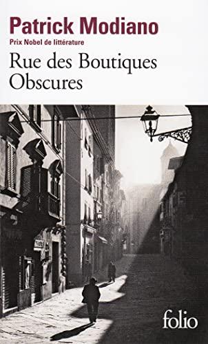 Rue des Bontiques obscures (Folio): Patrick Modiano