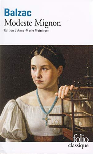 Modeste Mignon (French Edition): Balzac, Honore de