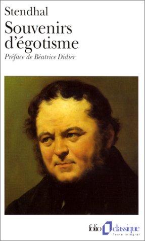 9782070374304: Souvenirs D'Egotisme (Folio (Gallimard)) (English and French Edition)