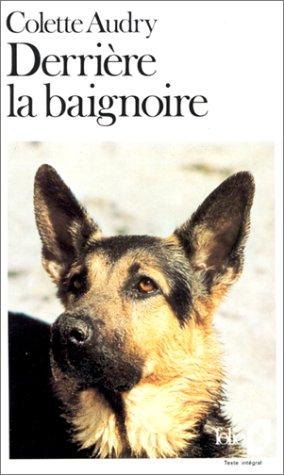 9782070375042: Derriere La Baignoire (Folio) (English and French Edition)