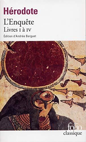 9782070376513: L'Enquête (Livres I à IV)