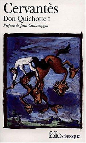9782070379002: L'ingénieux hidalgo Don Quichotte de la Manche, Tome 1 : (Folio Classique)